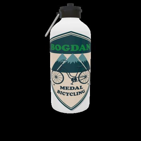 Bidon sport argintiu personalizat 750 ml - Copie1