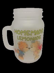 Cană de sticlă personalizată - Homemade, Limonade0