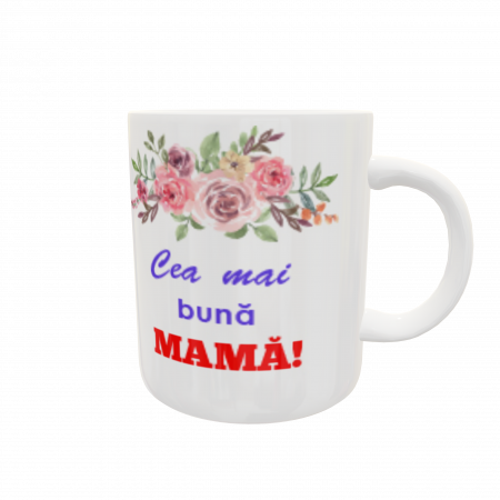 Cană personalizată - Best mom ever2
