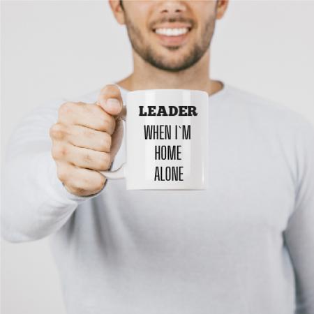 Cană personalizată - LEADER1