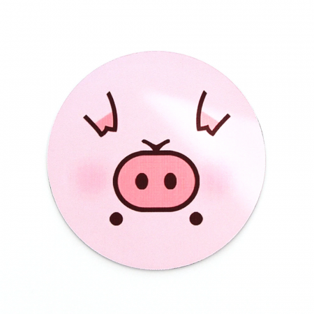 Mousepad personalizat rotund4