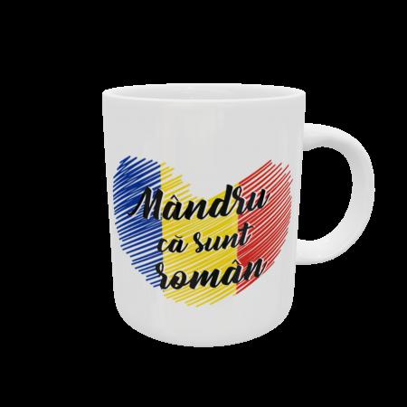 Cană personalizată - Mândru ca sunt român1