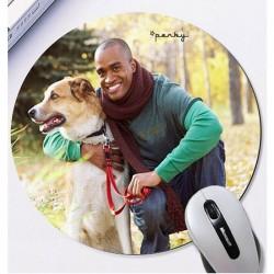 Mousepad personalizat rotund0
