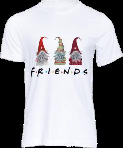 Tricou personalizat Friends, Alb, Unisex2