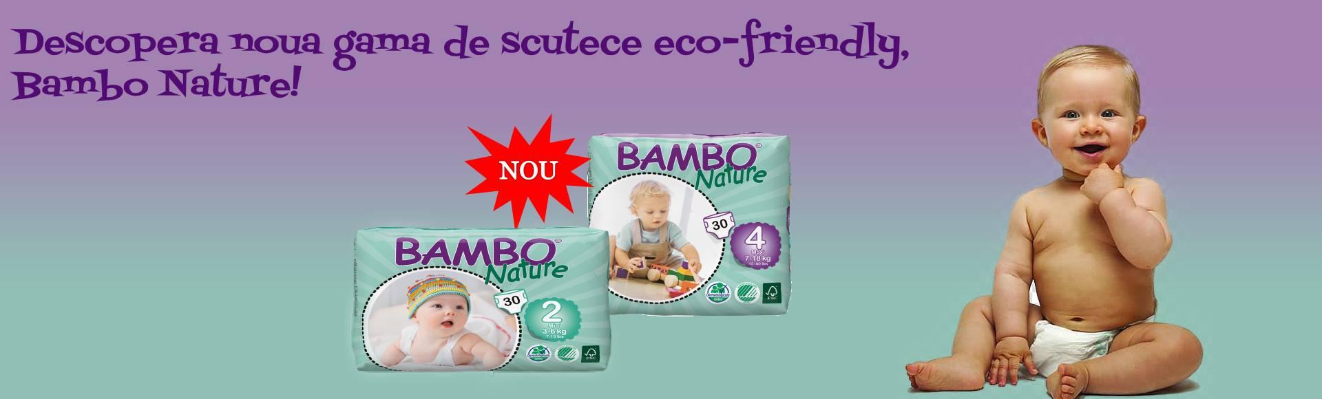 NOU! Scutecele Bambo Nature