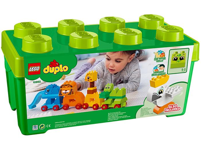 10863 LEGO® DUPLO® My First Prima mea cutie de caramizi cu animale 1
