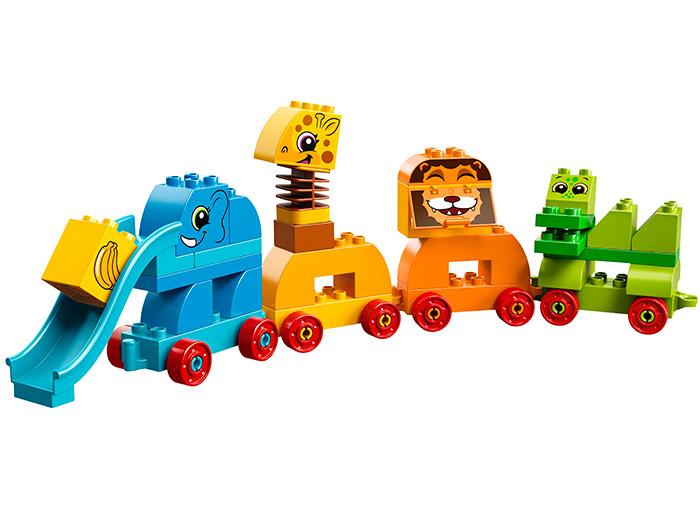10863 LEGO® DUPLO® My First Prima mea cutie de caramizi cu animale 5