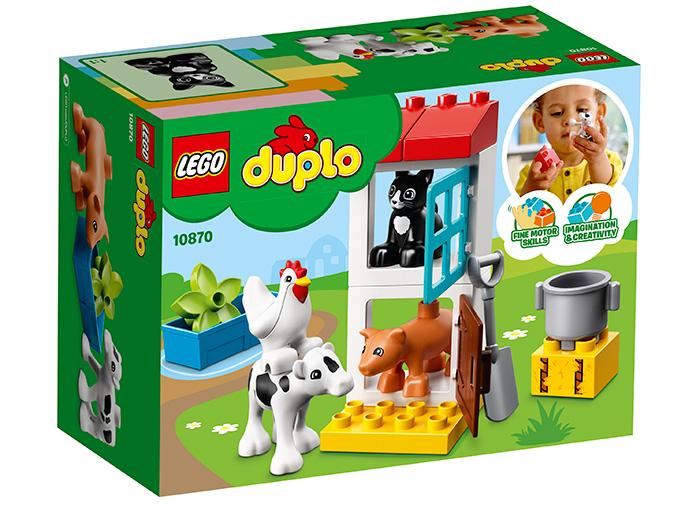 10870 LEGO® DUPLO® Town Animalele de la ferma 4