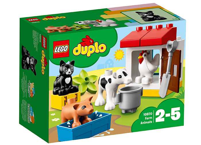 10870 LEGO® DUPLO® Town Animalele de la ferma 0