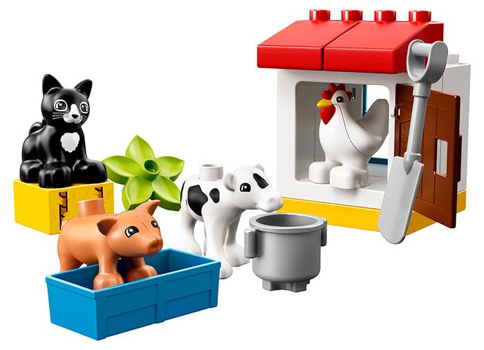10870 LEGO® DUPLO® Town Animalele de la ferma 5