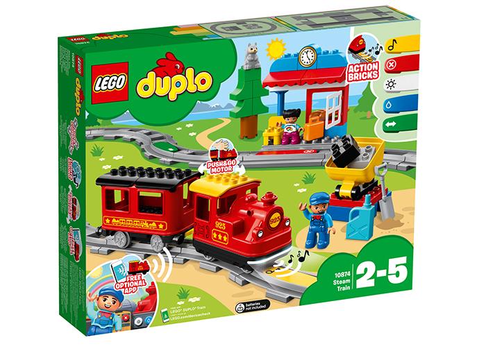 10874 LEGO® DUPLO® Tren cu aburi  0