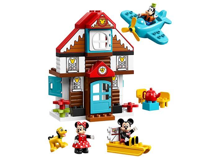10889 LEGO® DUPLO®: Casa de vacanta a lui Mickey  2
