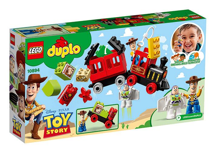 10894 LEGO® DUPLO®: Tren Toy Story 1