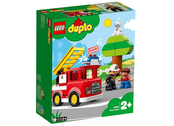 10901 LEGO® DUPLO®: Camion de pompieri 0