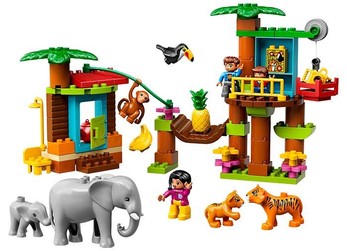 10906 LEGO® DUPLO®: Insulă tropicală  2