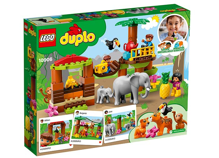 10906 LEGO® DUPLO®: Insulă tropicală  1