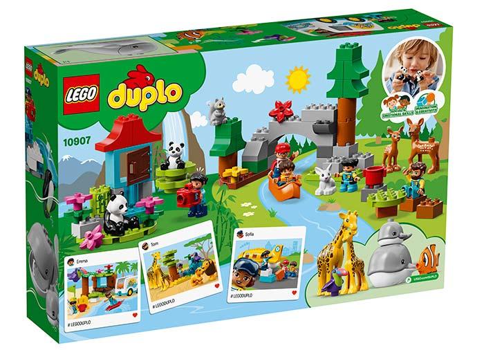 10907 LEGO® DUPLO®: Animalele lumii  4