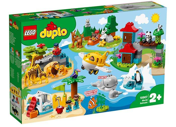 10907 LEGO® DUPLO®: Animalele lumii  3