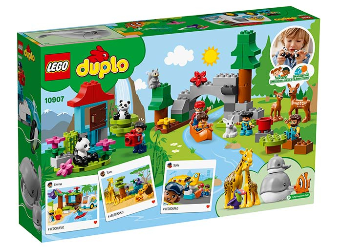 10907 LEGO® DUPLO®: Animalele lumii  1
