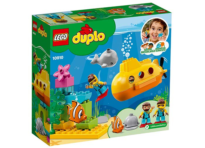 10910 LEGO® DUPLO®: Aventura cu submarinul  1