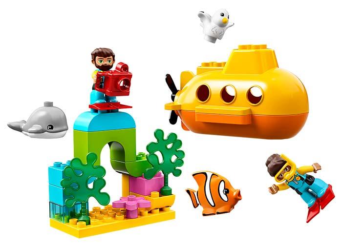 10910 LEGO® DUPLO®: Aventura cu submarinul  5