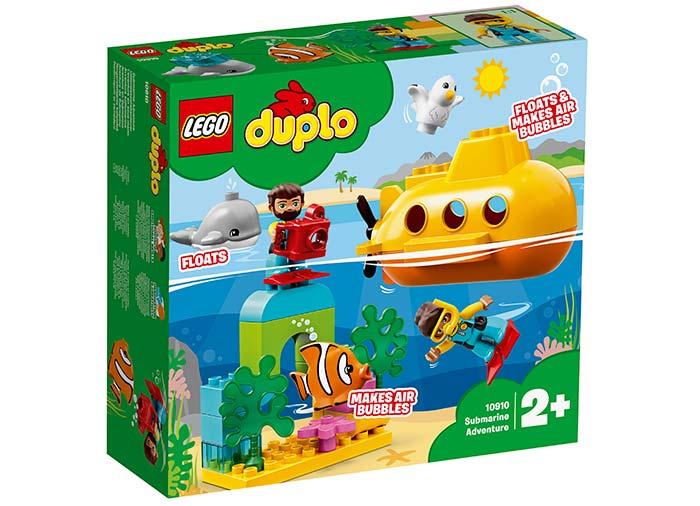 10910 LEGO® DUPLO®: Aventura cu submarinul  0