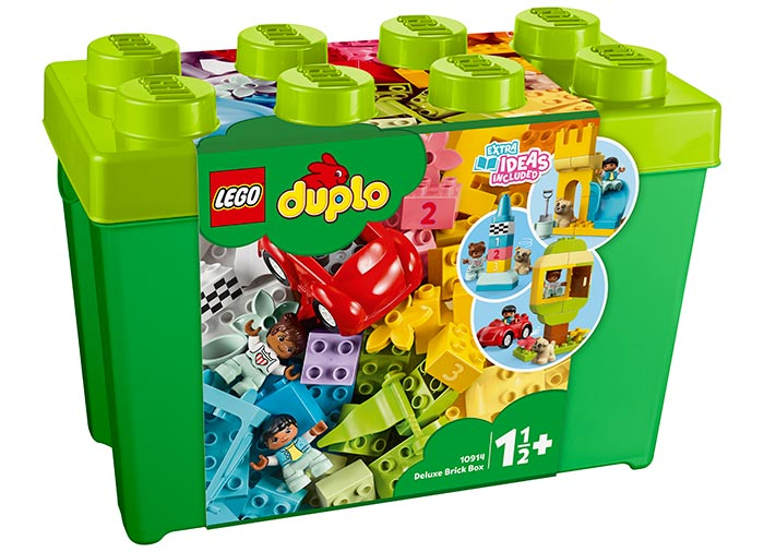 10914 LEGO® DUPLO®: Cutie Deluxe in forma de caramida  0