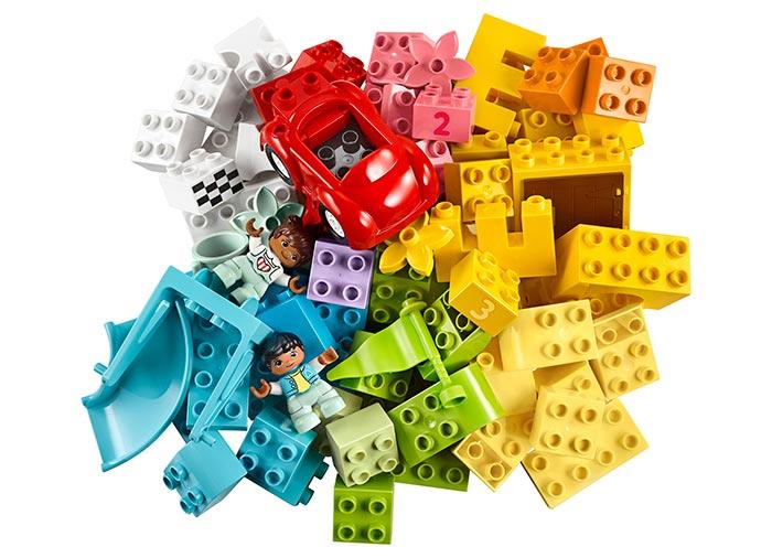 10914 LEGO® DUPLO®: Cutie Deluxe in forma de caramida  2