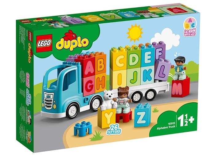 10915 LEGO® DUPLO®: Primul meu camion cu litere  0