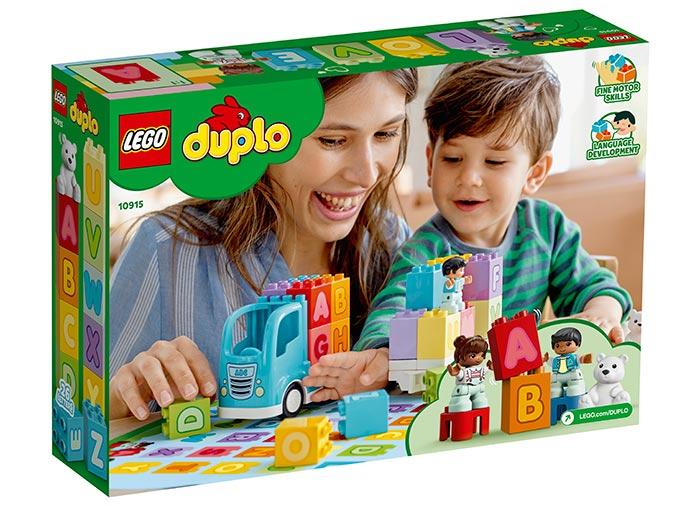 10915 LEGO® DUPLO®: Primul meu camion cu litere  4