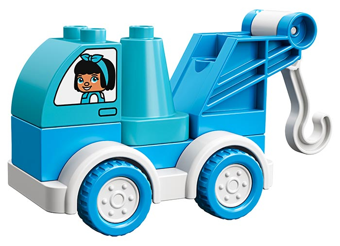 10918 LEGO® DUPLO®: Camion cu remorca  2
