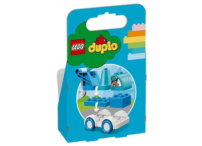 10918 LEGO® DUPLO®: Camion cu remorca  4