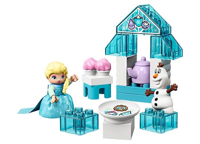 10920 LEGO® DUPLO®: Elsa si Olaf la Petrecere  2