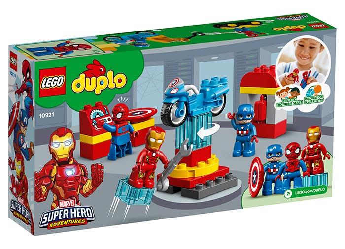 10921 LEGO® DUPLO®: Laboratorul Super Eroilor  [1]