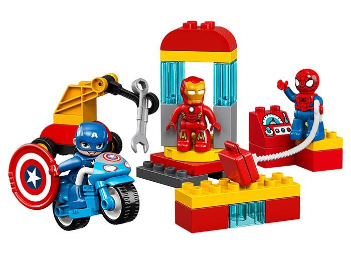 10921 LEGO® DUPLO®: Laboratorul Super Eroilor  [2]