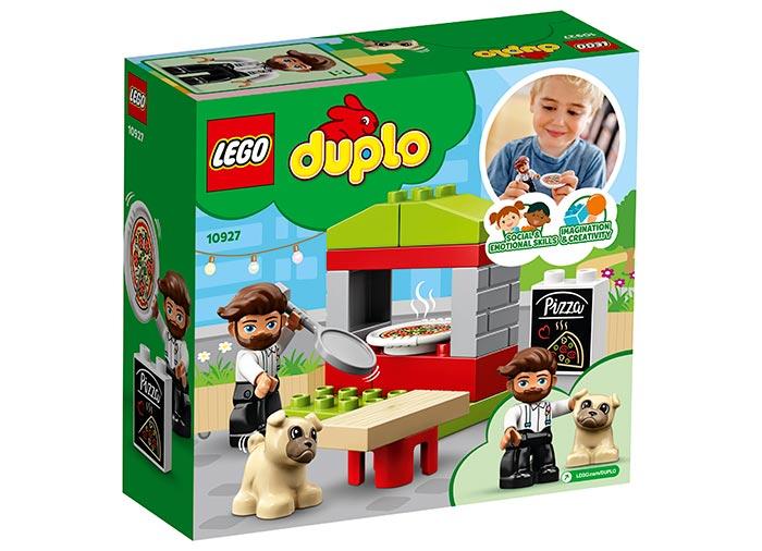 10927 LEGO® DUPLO®: Stand cu pizza  1