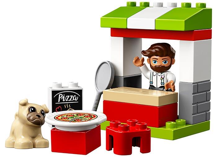 10927 LEGO® DUPLO®: Stand cu pizza  2