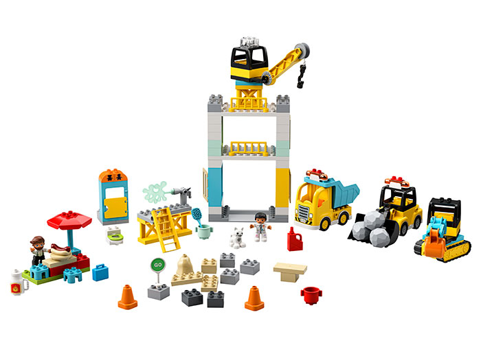 10933 LEGO® DUPLO® : Macara si Constructie 5