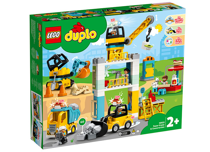 10933 LEGO® DUPLO® : Macara si Constructie 0