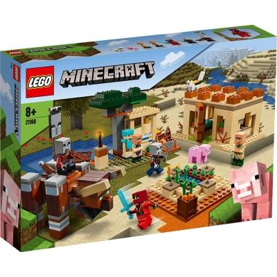 21160 LEGO® Minecraft™: Raidul Illager  [0]