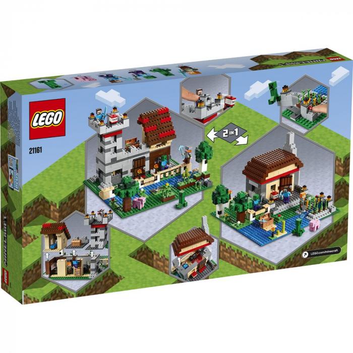 21161 LEGO® Minecraft™: Cutie de crafting 3.0 [0]
