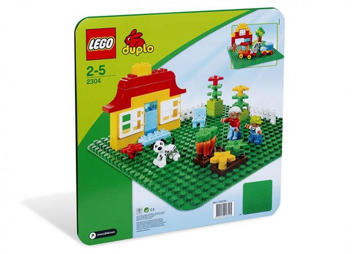 2304 LEGO® DUPLO® Placa mare, verde pentru constructii 0