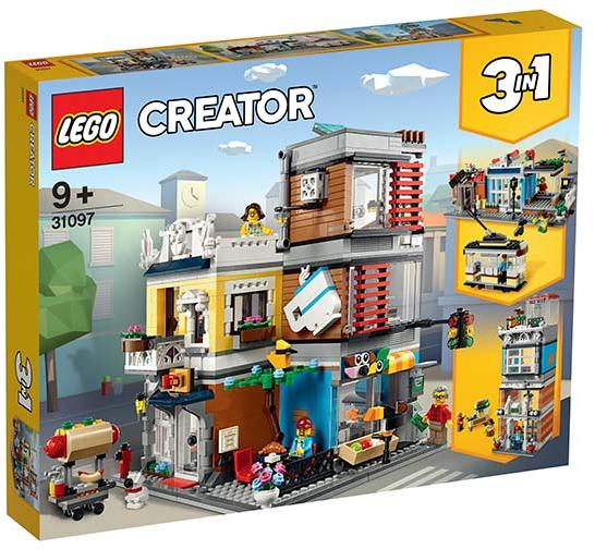 31097 LEGO® Creator: Magazin de animale si cafenea  [0]