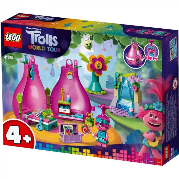 41251 LEGO® Trolls World Tour:  Capsula lui Poppy [0]