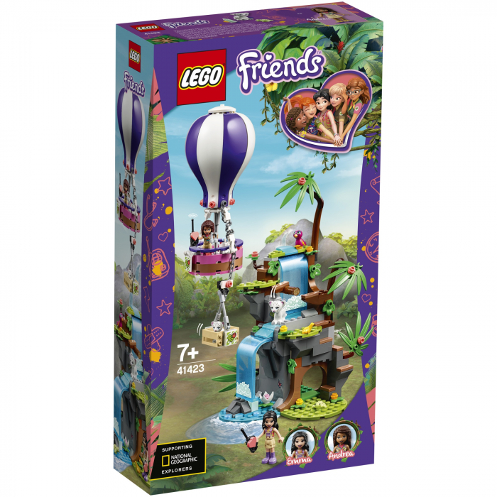 41423 LEGO® Friends: Salvarea tigrului cu balonul [0]