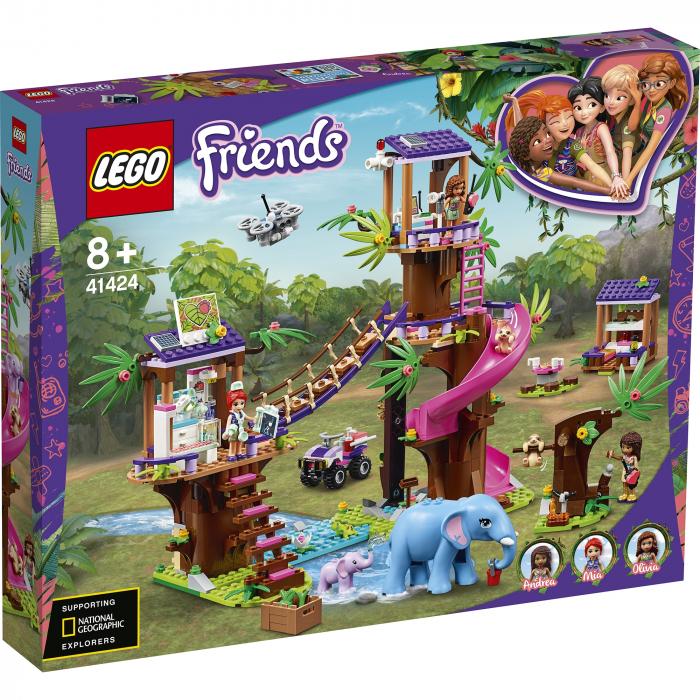 41424 LEGO® Friends: Baza de salvare din jungla [0]