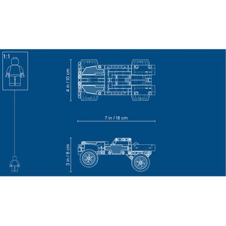 LEGO® Technic - Camion de evadare 42090 [4]