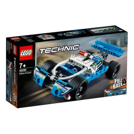 LEGO® Technic: Urmărirea poliției 42091  0