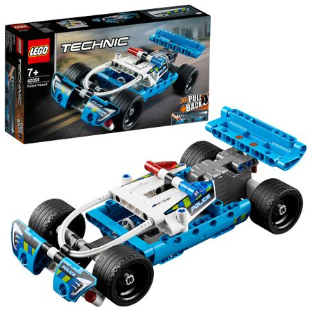 LEGO® Technic: Urmărirea poliției 42091  5