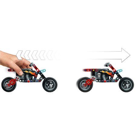LEGO® Technic: Camion si motocicleta pentru cascadorii 42106 2